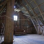 Höloftet ska byggas om till studio och publikläktare